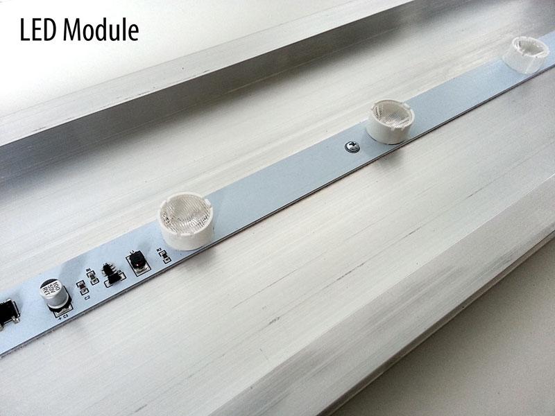 leuchtkasten leuchtreklame tiefe 13 6cm zweiseitig online g nstig kaufen. Black Bedroom Furniture Sets. Home Design Ideas