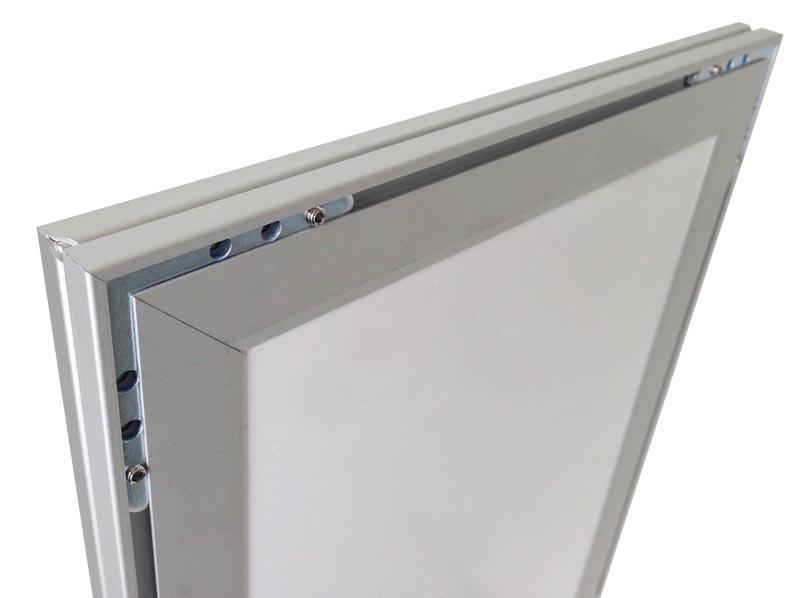 leuchtrahmen led rahmen indoor flach din format online kaufen signboxx. Black Bedroom Furniture Sets. Home Design Ideas