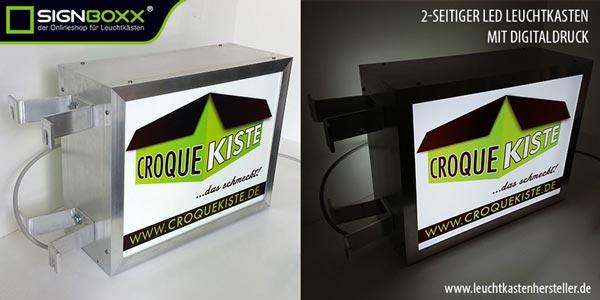 leuchtkasten mit led tiefe 20 3 cm zweiseitig online g nstig kaufen. Black Bedroom Furniture Sets. Home Design Ideas