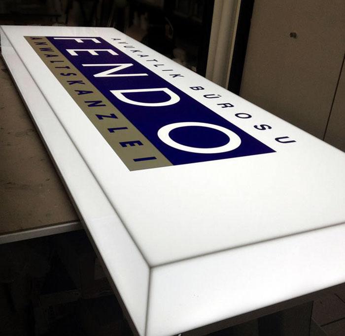 led leuchtkasten vollacryl tiefe 8cm einseitig online g nstig kaufen. Black Bedroom Furniture Sets. Home Design Ideas