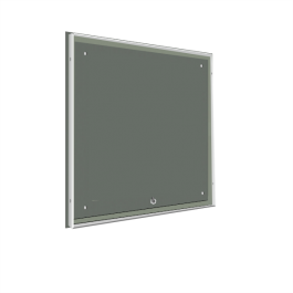 LED Leuchtkasten - Vollacryl - Tiefe 5 cm - einseitig