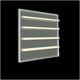 LED Leuchtkasten - Vollacryl - Tiefe 15 cm - einseitig