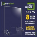 Hustenschutz 53x75 cm