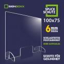 Spuckschutz 100x75 cm