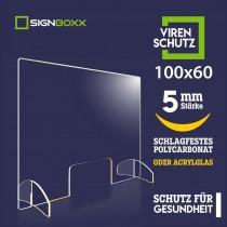 hustenschutz 100x60 cm 5mm